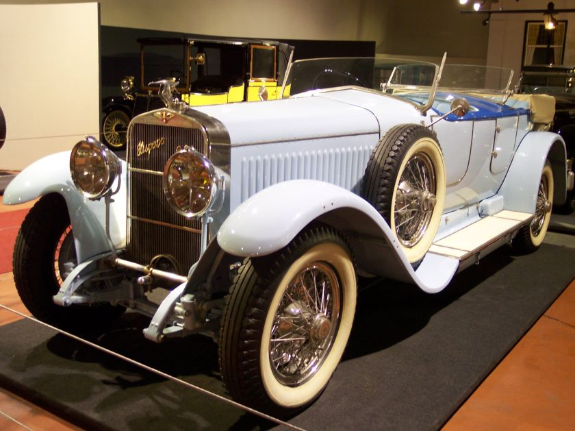 1924 Hispano-Suiza H6B Million-Guiet Dual-Cowl Phæton