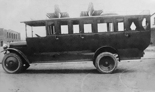 1925 HISPANO-SUIZA Bus