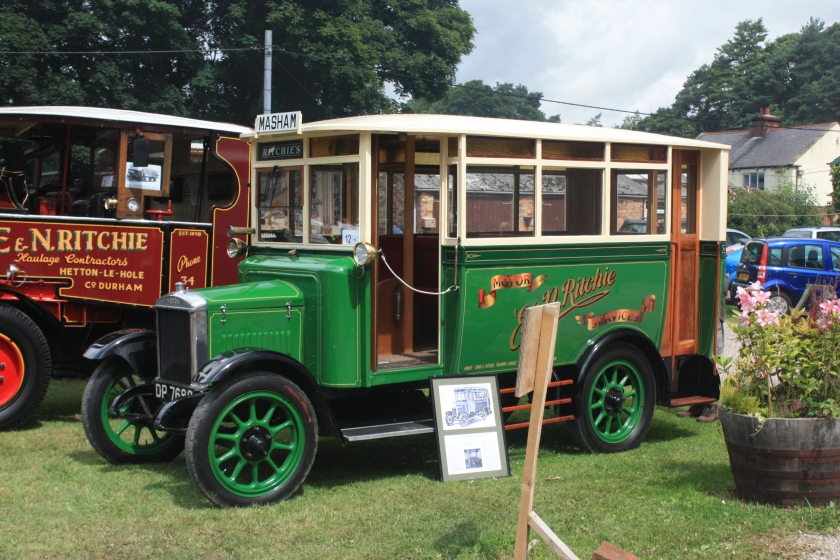 1925 Morris Commercials Bus DP 7680