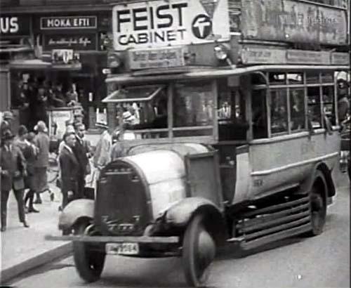 1925 N.A.G. Decksitzbus in Berlin
