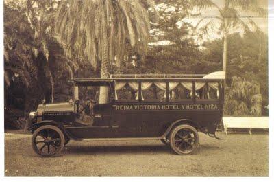 1926 Hispano Suiza REINA VICTORIA HOTEL Y HOTEL NIZA
