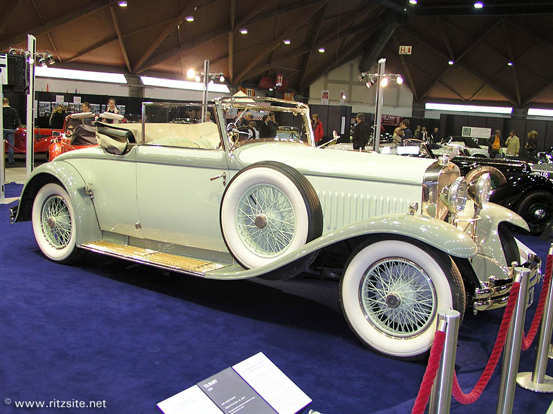 1929 Hispano-Suiza T49 - cabriolet body by D'Ieteren
