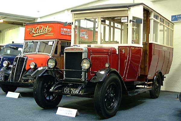 1929 morris Commercialbus Brooks