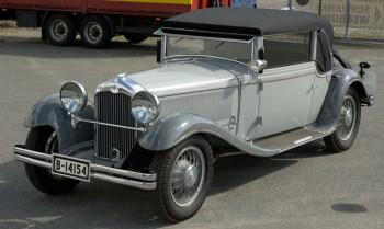 1930-31 NAG Protos 208(Tochter der AEG), Berlin-Oberschoeneweide 6 Zylinder Reihenmotor, 200 kg