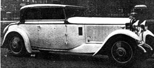1930 hispano suiza 45hp
