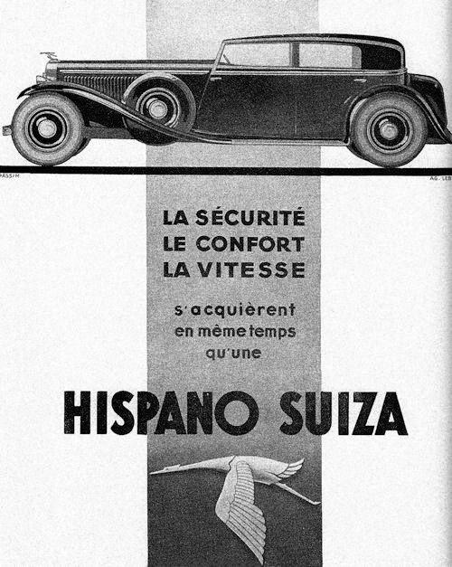 1930 hispano suiza ad