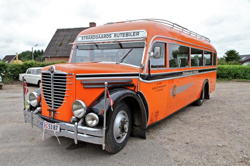 1930 Nag Büssing Imperator-Carr DAB Silkeborg- Chevrolet 6 cyl Denmark