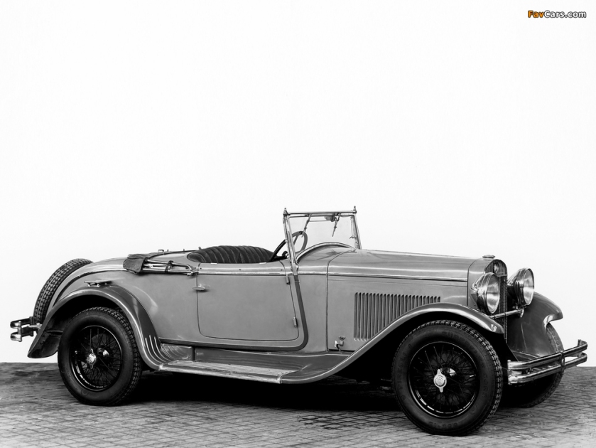 1930 OM 665 Convertible 1930