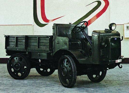 1932 ОМ-32 Autocarretta da Montagna, 4x4