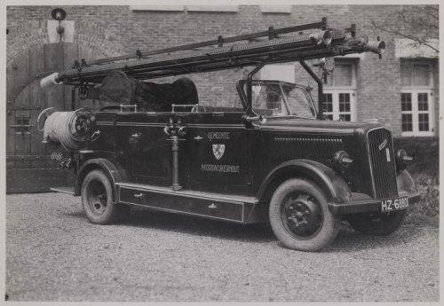1932 Opel Blitz vrachtwagenchassis van 1,5 T