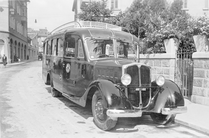 1932 Spa carrozzeria Renzo orlandi anni '30