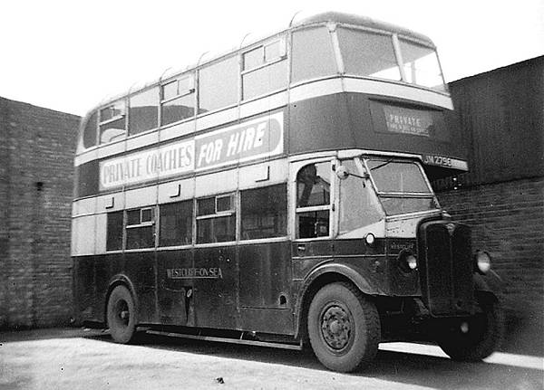 1933 AEC Regents with Park Royal bodies