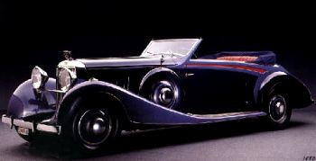 1933 hispano suiza j12 cabriolet by vanvooren
