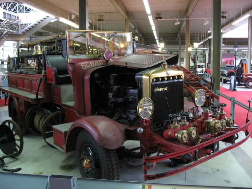 1933 Minerva 6 cyl. — Schaerbeek Fire Brigade