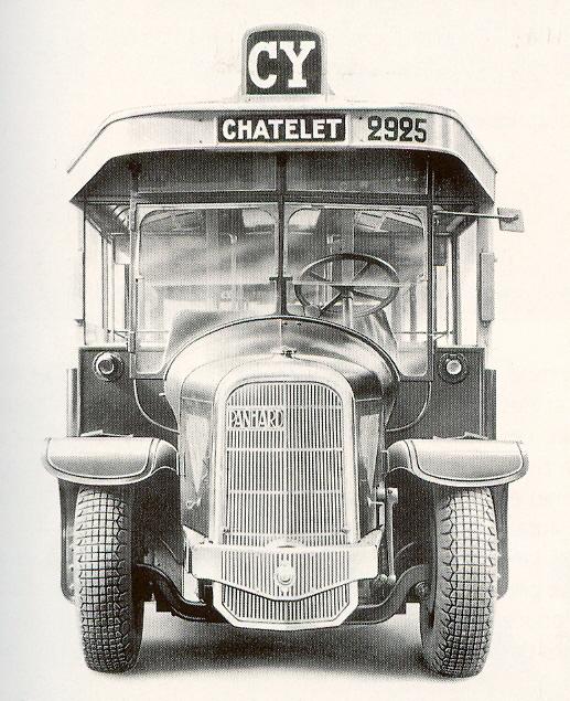 1934 MHV Panhard&Levassor K63