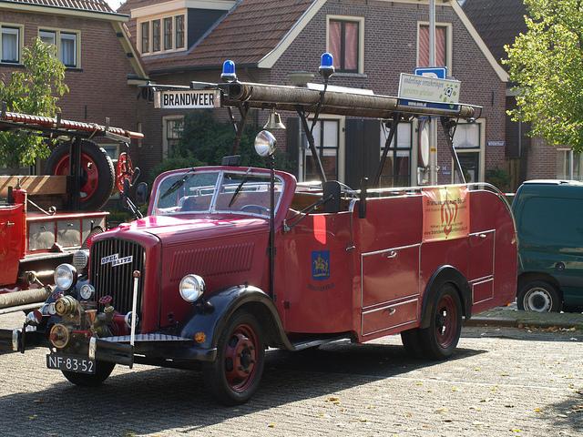 1934 Opel Blitz Brandweer