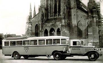 1934 Opel Blitzbus 71 35t lkw