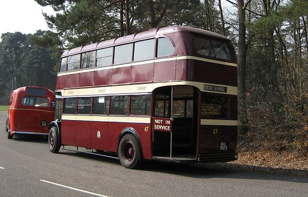 1935 AEC Regent with Park Royal L26-26R body a