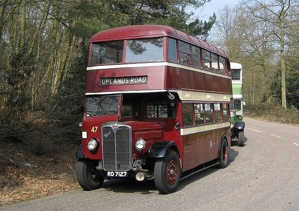 1935 AEC Regent with Park Royal L26-26R body