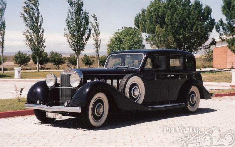 1935 Hispano-Suiza (F) J12 Limousine by Van Vooren