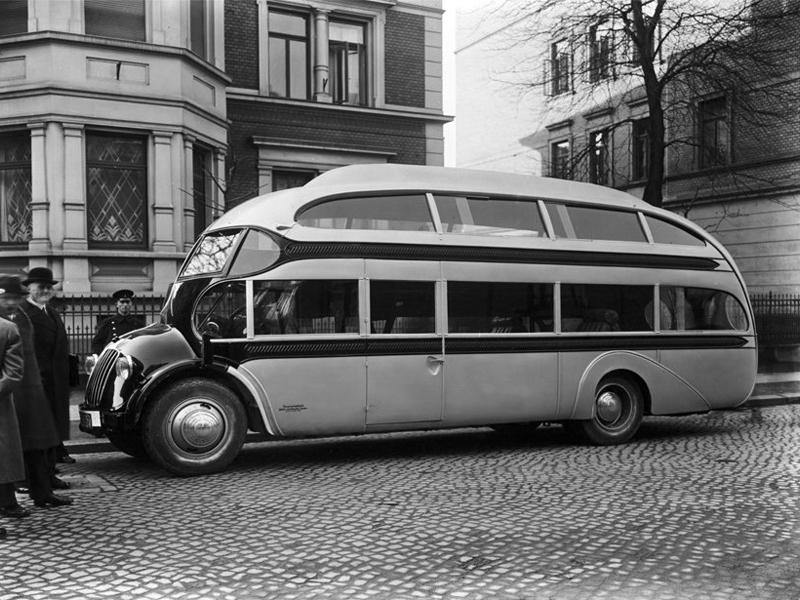 1935 Opel Blitz Aero Strassenzepp Doppeldecker