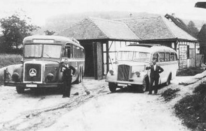 1935 Opel Blitzbus35 brandau odenwaldstrasse1940-heightdifference