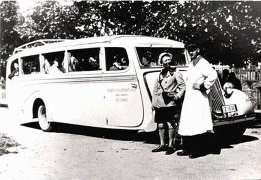 1935 Opel Blitzbus35 ero-karosserieaufbau