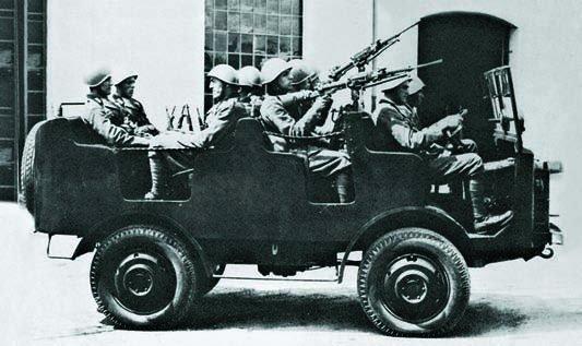 1936 ОМ-36DM, 4x4