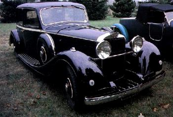 1936 hispano suiza k6 sedan