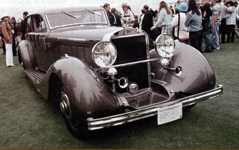 1936 hispano suiza limousine