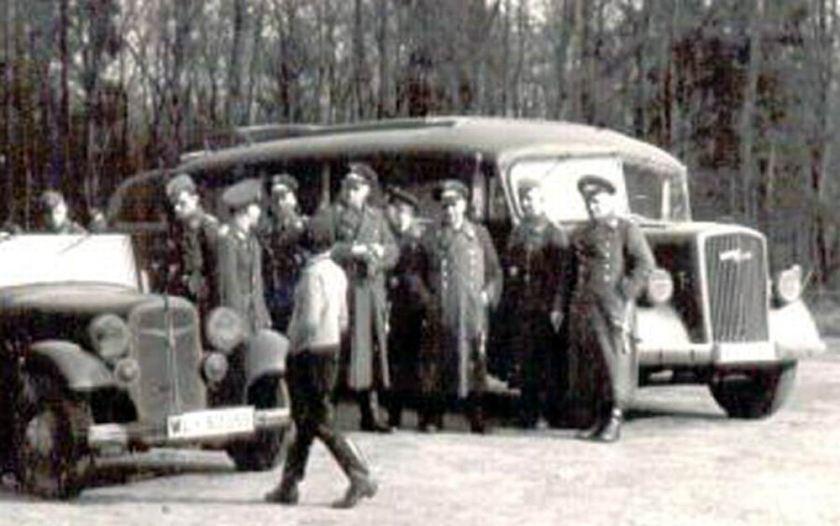 1936 Opel Blitzbus 36 earlywar
