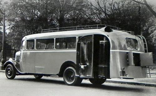 1936 Panhard Bus gazogene 1936