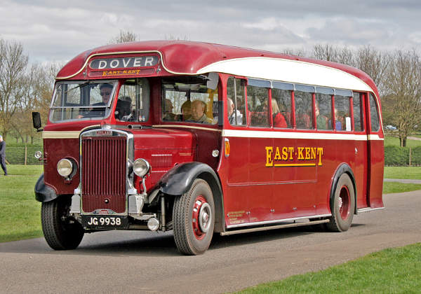 1937 Leyland East Kent TS8Park Royal coach JG9938