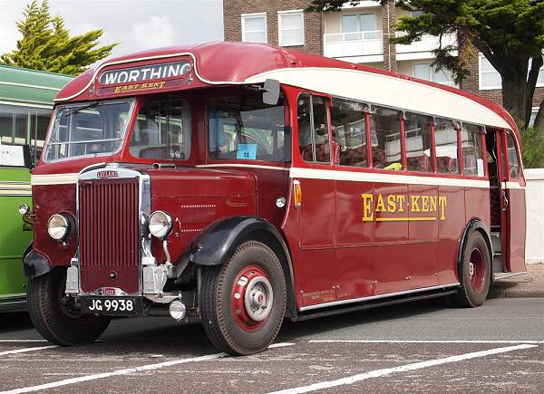 1937 Leyland Tiger TS8 with Park Royal C32R bodywork