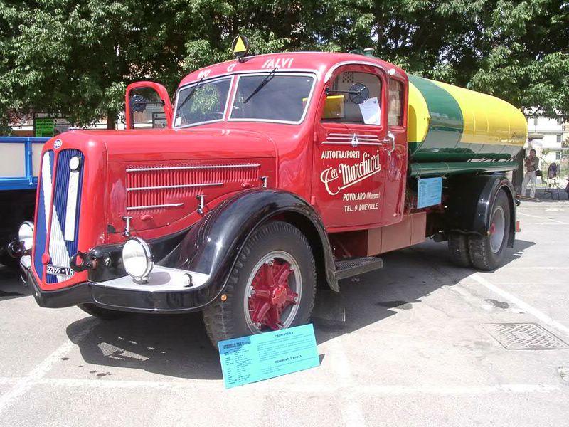 1937 OM Titano 137, 11300cm3, 137cv, cabine couchette