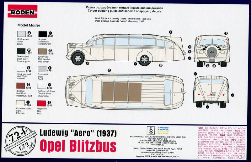 1937 Opel Blitz Ludewig Aero