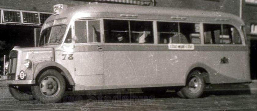 1937 Opel Blitzbus 37 gtu-nr78