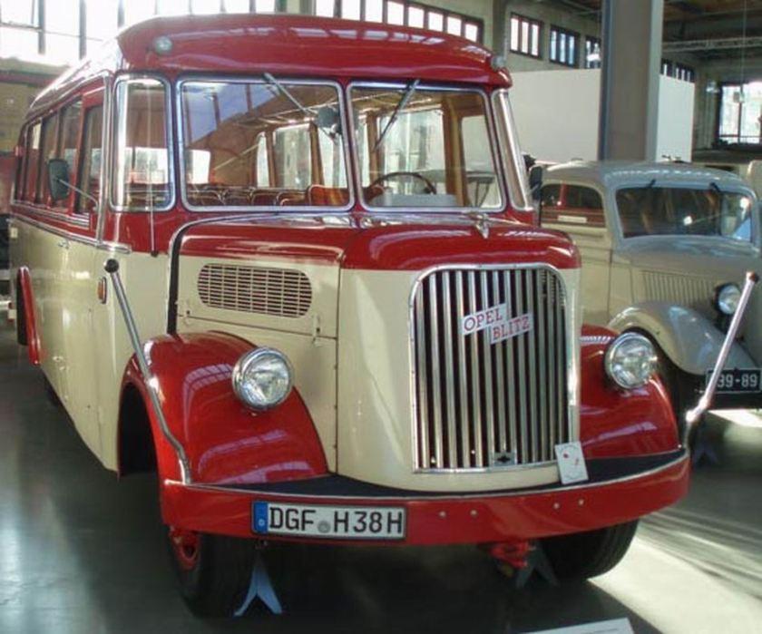 1938 Auwärter Opel Blitz Bus