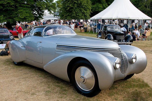 1938 Hispano-Suiza H6C Xenia Winner goodwood Toernooi