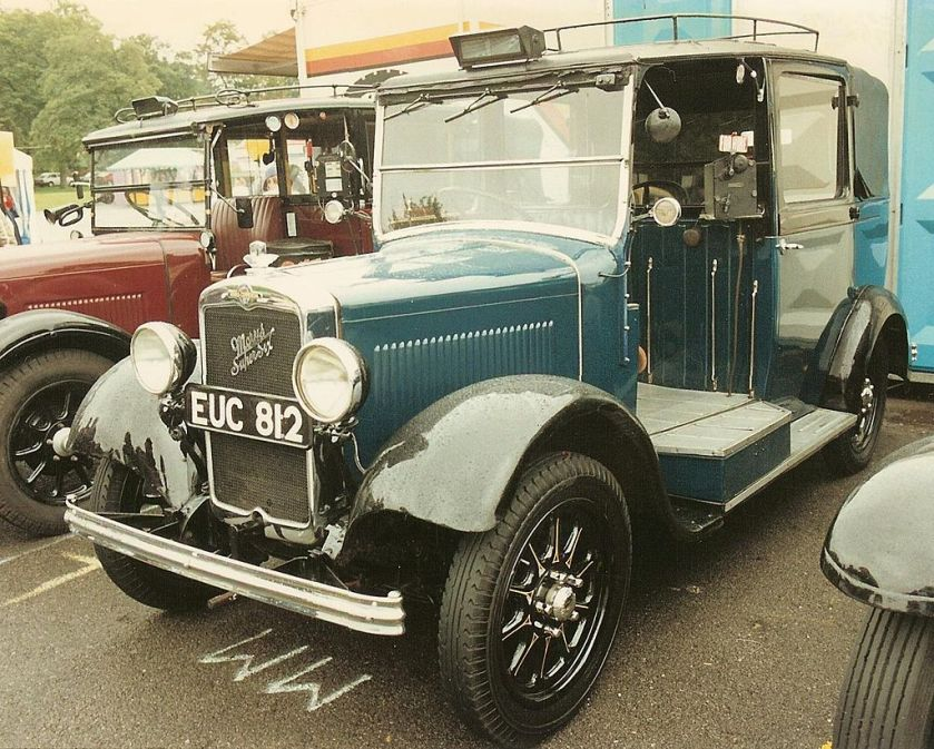 1938 Morris-Commercial G2SW London Taxicab 2½-litre