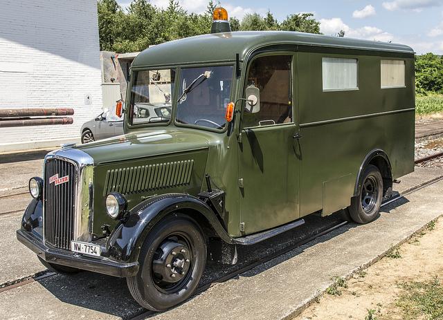 1938 Opel Blitz Ambulance