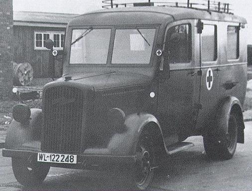 1938 Opel blitz15sanka Opel-Blitz Typ 2,5-32