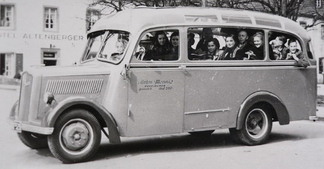 1938 Opel Blitzbus 94 Altenberg