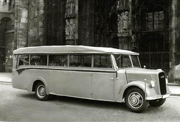 1938 Opel Blitzbus  cabrio