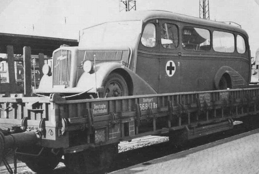 1938 Opel Blitzbus35 luxurious train