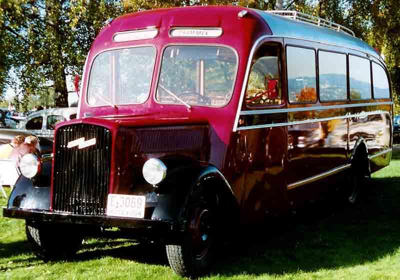 1938 Opel Bus Lindgren Sweden