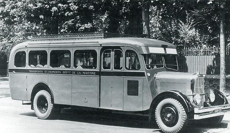 1938 PANHARD équivalent du camion PANHARD K93