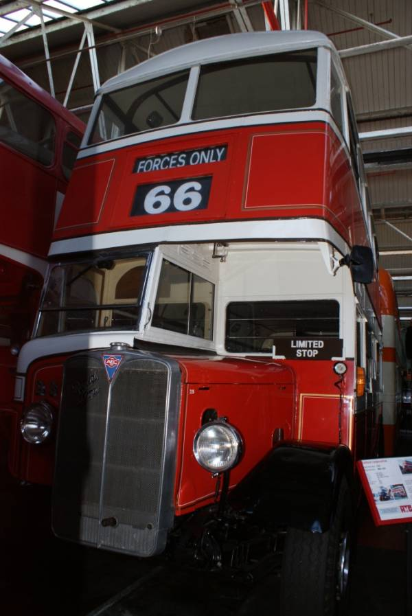 1939 AEC Regent with Park Royal bodywork