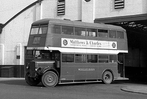1939 AEC Regent with utility NCB body cyhf7435
