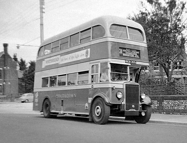 1939 built Leyland TD5 which by this time had acquired a Northern Counties H54R all-metal body